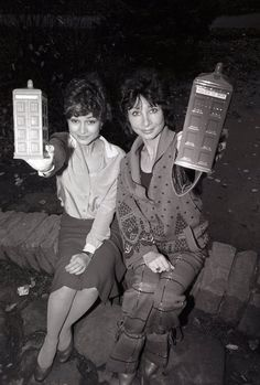 Tegan (5th Doctor companion) and Susan (1st Doctor companion)