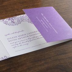 Introducing the simple and elegant All-In-One wedding invitation - a great way to make invitations easier and more cost effective. The All-In-One wedding invitation contains a traditional invitation housed in a tri-fold design that has a perforated RSVP card included. Simply stick a stamp on the card, fold the invitation, and place it in the mailing envelope. Create a personalized All-In-One wedding sample invitations for $9.00. Take 15% off your order!