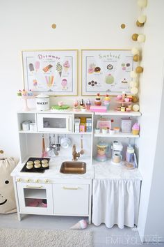 An Ikea children's space remains to fascinate the little ones, as they are provided a lot more than kids' room Ikea Kids Kitchen, Diy Play Kitchen, Play Kitchens, Girl Room, Girls Bedroom, Bedroom Ideas, Childrens Bedroom, Kid Bedrooms, Baby Room