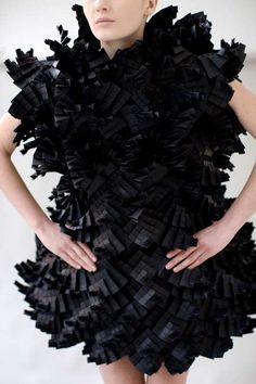 Robe en papier #robe #papier #paperart