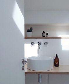 Bathroom essentials by Nor-Folk. Liquid soap Version Originale by Compagnie de Provence.