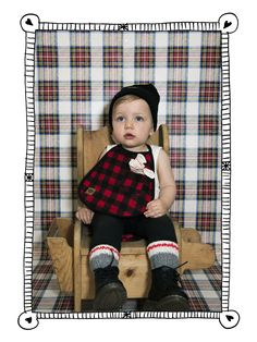Adjustable reversible bib made flannel cored and faux leather. Fitted with a… First Birthday Gifts, Birthday Ideas, Lumberjack Birthday Party, December Birthday, Kid Closet, Happy 1st Birthdays, Gift List, Little Man, Baby Dress