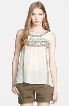 Joie 'Norristelle' Silk Blouse available at #Nordstrom