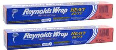 Reynolds Wrap Heavy Duty Aluminum Foil, 50 Square Feet ~ 2 Pack Reynolds Wrap.