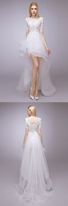 2017 Autumn And Winter New Thin Shirt In Front Of The Long Bride Wedding Dress