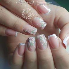 The Rundown On Nail Polish Application French Nail Designs, Cool Nail Designs, French Nails, Fun Nails, Pretty Nails, American Nails, Nagel Hacks, Shellac Nails, Manicures