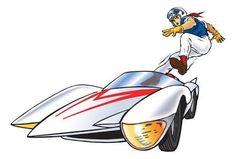 Speed Racer Mach 5 Logo: Giclée Print at Maximillian Gallery 70s Cartoons, Old School Cartoons, Classic Cartoons, Old Cartoon Movies, Cartoon Tv, Speed Racer Cartoon, Spy Shows, Manga Anime, Nostalgia