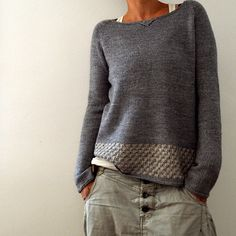 Llevant Knitting pattern by Isabell Kraemer