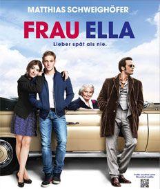 FRAU ELLA || Mit Ruth Maria Kubitschek, August Diehl und mir