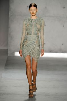 Sally Lapointe at New York Fashion Week Spring 2013 - StyleBistro
