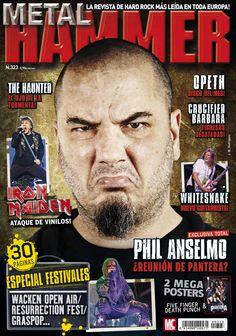 #Metal Hammer 323. Phil Anselmo, ¿reunión de pantera?