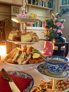 Afternoon Tea in Adare Creamery, Co. Limerick, Ireland