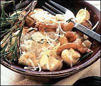 Houbové rizoto 3 recept - Labužník.cz Potato Salad, Potatoes, Meat, Chicken, Ethnic Recipes, Food, Potato, Essen, Meals