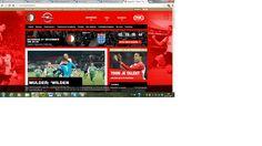 Een mooie site met de kleuren van Feyenoord en voor alle liefhebbers van voetbal en met name voor Feyenoord fans een handige site om up-to-date te blijven van alles wat met Feyenoord te maken heeft