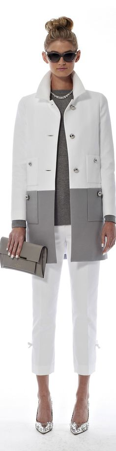 Kate Spade ● SPRING 2014. Loving the coat.