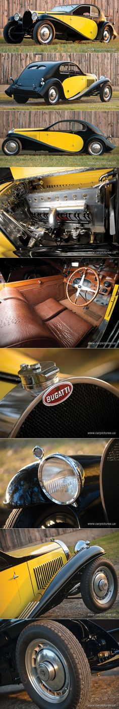 """1930 Bugatti Type 46 Superprofile Coupe 