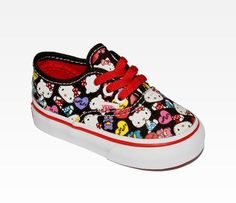 8ff63be6d21 VANS x Hello Kitty Toddler Lo Pro  Collage - omg so cute Hello Kitty Shop