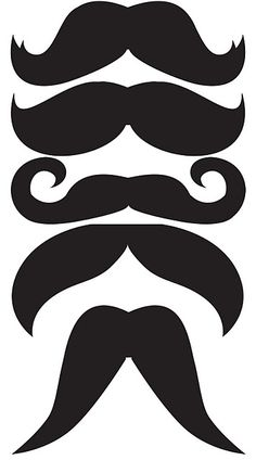 templates bigotes moustache bigotis