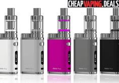 Here's a great deal on the brand new Eleaf iStick Pico 75W TC Box Mod Kit
