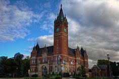 Delaware County Courthouse in Iowa.