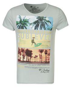 Sublevel - T-shirt print - Grijs