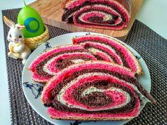 Hetényi lakodalmas piros kalács Sweet Recipes, Decor, Basket, Kuchen, Decoration, Decorating, Deco