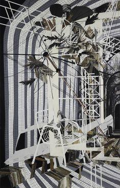 Francesca DiMattio // Oil and acrylic on canvas // The Saatchi gallery