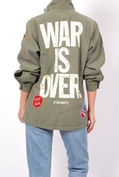 BACK IN STOCK- Madeworn John Lennon Army Jacket