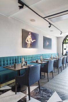 Swedish Studio Wingårdhs Gives the Radisson Collection Hotel - Strand Stockholm a Modern Refresh - Design Milk Six Hotel, Hotel Stockholm, Swan Chair, Long Sofa, Counter Design, Hotel Interiors, Swedish Design, Architecture, Banks