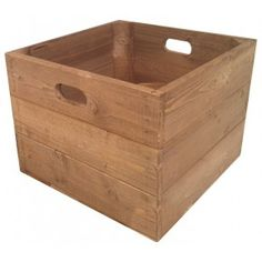 Our square tall wooden crate is great for carrying your products and then flipping it upside down to create your display unit. Perfect for outside events.  Dimensions are L 360mm x W 360mm x H 285mm.  All Products Are Made To Order.