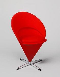 Cone Chair K1, Verner Panton pour Plus-Linje, éditeur actuel Vitra, 1958