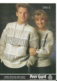 Blefjell 1591 S Men Sweater, Knitting, Sweaters, Retro, Projects, Fashion, Log Projects, Moda, Tricot