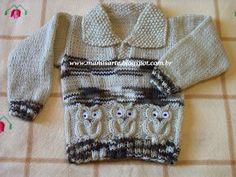 Olá!  Normalmente, quando eu teço blusa infantil, procuro não deixá-la justa para as medidas da criança; porque criança detesta roupa justa...