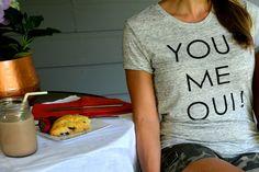 You Me Oui Shirt | allislovely.com | #fashion #womensfashion #style #mystyle