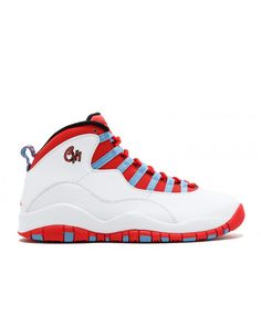 sports shoes 43b53 79208 Air Jordan Retro 10 Chicago White Lt Crmsn Unvrsty Bl Blk 310805 114