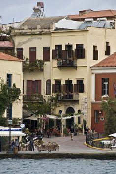 Chania, Crete - Greece #places