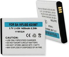 Empire Scientific BLI-1245-1.4 Samsung Sgh-I997 Li-Ion 1400Mah
