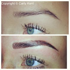 Stunning permanent make up brows by Carly Kent - GLOW Ongar