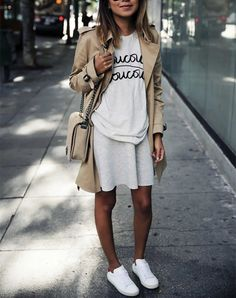 GRAPHIC TEE AND SKATER SKIRT