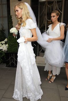 Poppy & Cara in Chanel Haute Couture