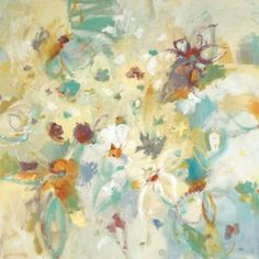 Floral Muse Stretched Canvas