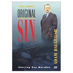 "Roy Marsden plays P.D. James's Adam Dalgliesh in the TV-movie adaptation of ""Original Sin"""