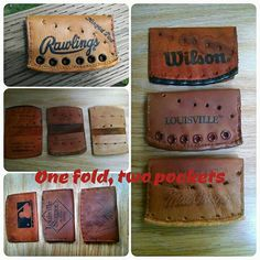 Baseball Glove Wallet. Choose the style you like by Spearheaders