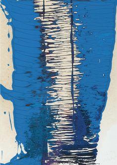 "thunderstruck9: "" Gerhard Richter (German, b. 1932), Untitled, 1994. Oil on paper laid down on board, 30.4 x 21.5 cm. """