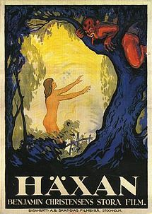 Häxan (English title: The Witches or Witchcraft Through The Ages) is a 1922 Swedish/Danish silent horror film written and directed by Benjamin Christensen. Based partly on Christensen's study of the Malleus Maleficarum, a 15th-century German guide for inquisitors, Häxan is a study of how superstition and the misunderstanding of diseases and mental illness could lead to the hysteria of the witch-hunts.