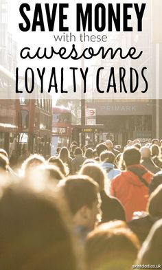 Instead of weighing your bag down with every single store reward and loyalty card going, take a look at some of the biggest loyalty points earners so you can take advantage of the best savings. Ways To Save Money, Money Tips, Money Saving Tips, Saving Ideas, Credit Card Hacks, Best Savings, Managing Your Money, Frugal Living Tips, Money Matters