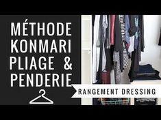 Home Organization Cheap But Mighty Ideas Organiser Son Dressing, Konmari Method Folding, Fee Du Logis, Marie Kondo, Home Organization, New Homes, How To Plan, Storage, Youtube Clothing