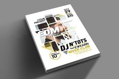 EDM Night Party Flyer by muhamadiqbalhidayat on @creativemarket