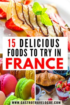Do you have a vacation in France planned and are wondering what to eat in France? Check out the these dishes and the best food in France.What to eat in France food | What to eat in Paris France | What do people eat in France | Food in France | French food | Foodies | Best food in France | must try food in France | typical food in France| things to eat in France | Best things to eat in France | Things to eat in Paris France | French food traditional| popular French food| traditional French…