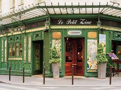 Foto europea en el restaurante Le Petit Zinc nouveau del arte en París, Francia por Dennis Barloga | Fotos de Europa: Las fotografías de bellas artes por Dennis Barloga